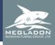 Megladon Shark Logo