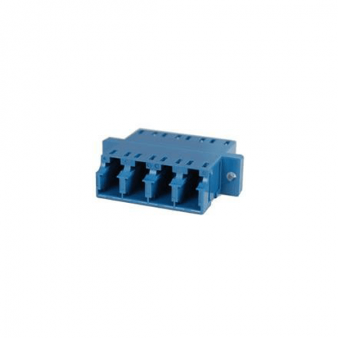 Singlemode Quad LC Adapter