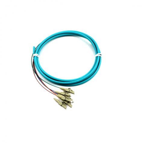 6 Fiber Multimode LC Pigtail