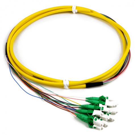 12 Fiber Singlemode LC APC Pigtail
