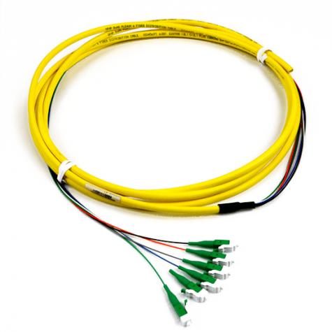 6 Fiber Singlemode SC APC Pigtail